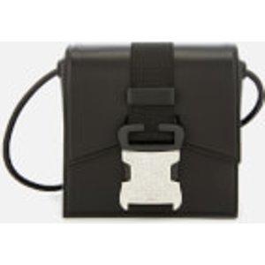 Christopher Kane Women's Mini Crystal Buckle Cross Body Bag - Black  535181/U0074/1000  Clothing Accessories, Black