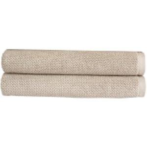 Christy Brixton Towel - Set Of 2 - Pebble - Bath Towel - Set Of 2 Grey  5055110995482  Home Textiles, Grey