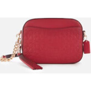 Coach Women's Signature Camera Bag - Bright Cherry Red  39184gdcnt  Clothing Accessories, Red