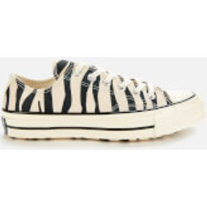 Converse Chuck Taylor All Star '70 Ox Trainers - Black/griege Unbleached/egret - Uk 7 White 167811c Mens Footwear, White