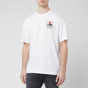 Edwin Men's Sunset On Mt. Fuji T-shirt - White - M I025881tg372m4267 Tops Mens Tops, White