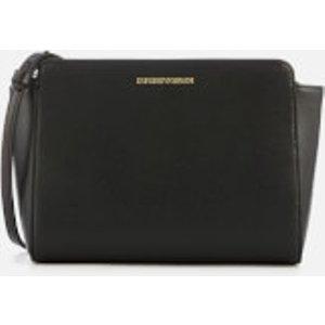 Emporio Armani Women's Frida Cross Body Bag - Black  Y3B084 YH15A 88058  Bags, Black