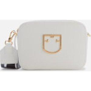 Furla Women's Brava Mini Cross Body Bag - Chalk White  1027911  Clothing Accessories, White