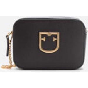 Furla Women's Brava Mini Cross Body Bag - Onyx Black  1013949  Clothing Accessories, Black
