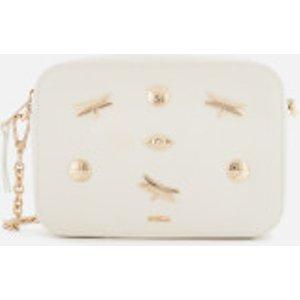 Furla Women's Brava Zaffiro Mini Cross Body Bag - Chalk White  1045175  Clothing Accessories, White