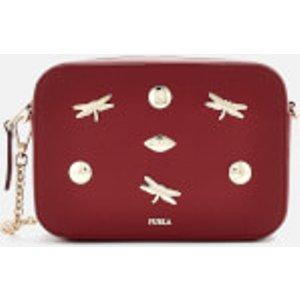 Furla Women's Brava Zaffiro Mini Cross Body Bag - Red  1045174  Clothing Accessories, Red