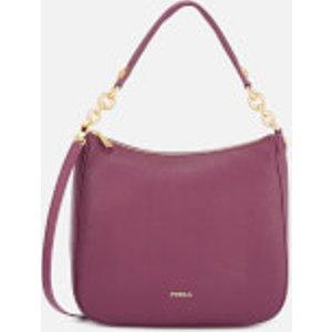 Furla Women's Cometa Medium Hobo Bag - Purple  998483 T75  Clothing Accessories, Purple