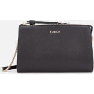 Furla Women's Luna Xl Cross Body Bag Pouch - Black  793484 O60  Clothing Accessories, Black