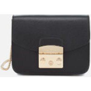 Furla Women's Metropolis Mini Cross Body Bag - Black  820676  Clothing Accessories, Black