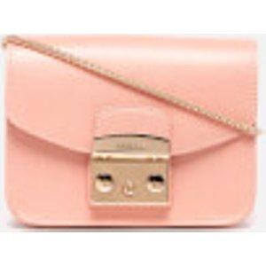 Furla Women's Metropolis Mini Cross Body Bag - Pink Nude  851173 6m0  Clothing Accessories, Nude