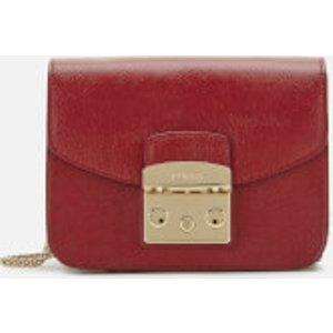 Furla Women's Metropolis Mini Cross Body Bag - Red  921163  Clothing Accessories, Red