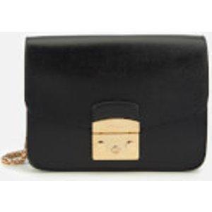Furla Women's Metropolis Small Cross Body Bag - Black  941911  Clothing Accessories, Black