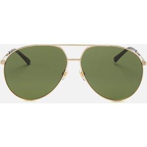 Gucci Men's Metal Frame Sunglasses - Shiny Endura Gold Gg0832s Womens Accessories, Gold