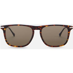Gucci Men's Metal Sunglasses - Havana/silver/brown 30010415002 Mens Accessories, Brown