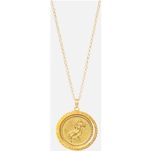 Hermina Athens Women's Amalthea Pendant Necklace - Gold Apg Womens Jewellery, Gold