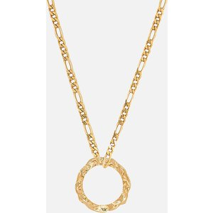 Hermina Athens Women's Full Moon Grecian Necklace - Gold Fmgng Womens Jewellery, Gold