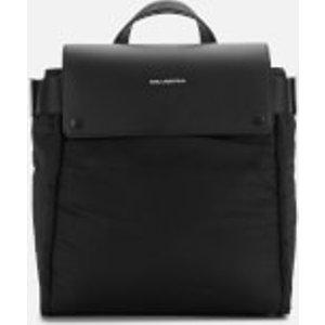 Karl Lagerfeld Women's K/ikon Nylon Backpack - Black  201w3029 A999  Clothing Accessories, Black