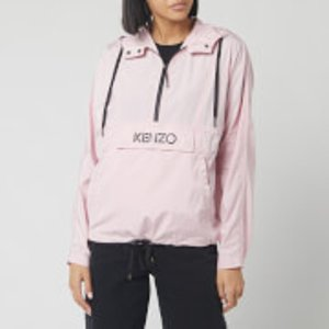 Kenzo Women's Hoody Packable Windbreaker - Faded Pink - Uk 8/eu 38  Fa52bl10356734 Coats And Jackets Womens Outerwear, Pink