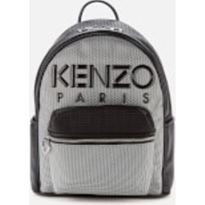 Kenzo Women's Neoprene Logo Backpack - Silver  F962sa403f02.ag  Clothing Accessories, Silver