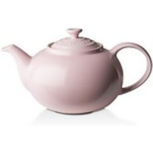 Le Creuset Stoneware Classic Teapot - Chiffon Pink  70702134010000  Kitchen, Pink
