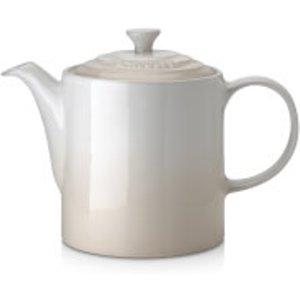 Le Creuset Stoneware Grand Teapot - Meringue   70703137160000  Kitchen