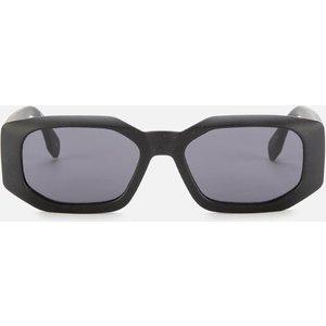 Le Specs Women's Grass Half Full Oval Sunglasses - Black Grass Lsu2029501 Womens Accessories, Black