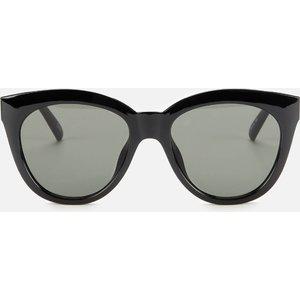 Le Specs Women's Resumption Round Sunglasses - Black Lsu2029508 Womens Accessories, Black