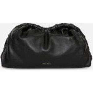 Mansur Gavriel Women's Cloud Clutch Bag - Black/flamma Wr19h004kq Clothing Accessories, Black