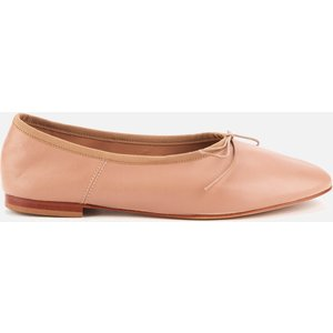 Mansur Gavriel Women's Dream Leather Ballet Flats - Biscotto - Uk 5 Nude Ws19f010kq Clothing Accessories, Nude