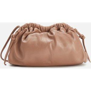 Mansur Gavriel Women's Mini Cloud Clutch Cross Body Bag - Biscotto Beige Wp20h010kq Clothing Accessories, Beige