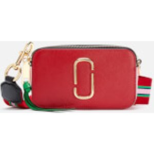 Marc Jacobs Women's Snapshot Cross Body Bag - Fire Red Multi  M0015373 941  Bags, Red