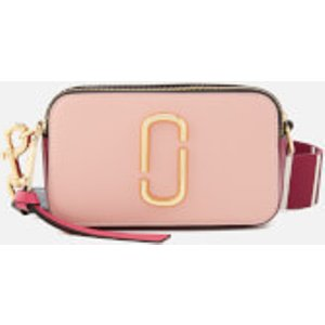 Marc Jacobs Women's Snapshot Cross Body Bag - Rose Multi Pink  M0012007 697  Clothing Accessories, Pink