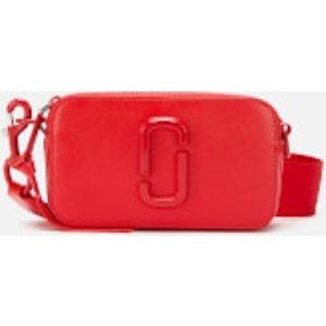 Marc Jacobs Women's Snapshot Dtm Cross Body Bag - Geranium Red  M0014867 612  Bags, Red