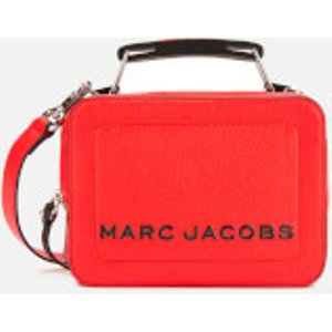 Marc Jacobs Women's The Box 20 Cross Body Bag - Geranium Red  M0014840 612  Bags, Red