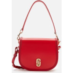 Marc Jacobs Women's The Saddle Bag - Geranium Red  M0015083 612  Bags, Red