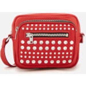 Mcq Alexander Mcqueen Women's Cross Body Bag - Riot Red  519676 R7B01  Bags, Red