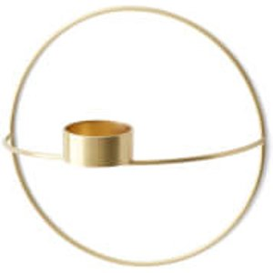 Menu Pov Circle Tealight Candle Holder - Brass   4813839  Home Accessories