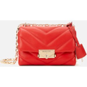 Michael Michael Kors Women's Cece Extra Small Chain Cross Body Bag - Bright Red  32T9G0EC1L 683  Clothing Accessories, Red