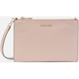 Michael Michael Kors Women's Crossbodies Large Double Pouch Cross Body Bag - Soft Pink/faw  32T9GF5C7T 630  Clothing Accessories, Pink