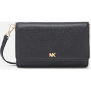 Michael Michael Kors Women's Crossbodies Phone Cross Body Bag - Black  32T8GF5C1L 001  Clothing Accessories, Black