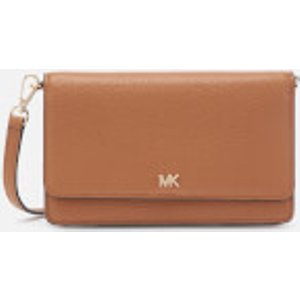 Michael Michael Kors Women's Crossbodies Phone Cross Body Bag - Acorn Tan  32t8gf5c1l 203  Clothing Accessories, Tan