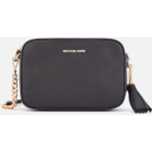 Michael Michael Kors Women's Jet Set Medium Camera Bag - Black  32F7GGNM8L 001  Clothing Accessories, Black
