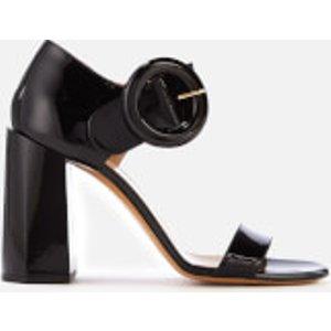 Mulberry Women's Block Heeled Sandals - Black - Eu 40/uk 7 - Black  Mb32170a 09270 999 High Heels Womens Footwear, Black