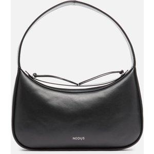 Neous Women's Delphinus Leather Shoulder Bag - Black 00011a01 Clothing Accessories, Black