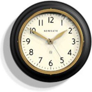 Newgate Cookhouse Ii Wall Clock - Black  Cook397k  Home Accessories, Black