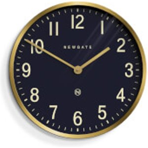 Newgate Master Edwards Wall Clock - Radial Brass Gold Put373rab Home Accessories, Gold