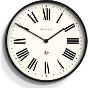 Newgate Number One - Italian Wall Clock Black  Numone148k  Home Accessories, Black