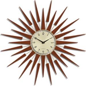 Newgate Pluto Wall Clock - Brown  PLUTOG  Home Accessories, Brown