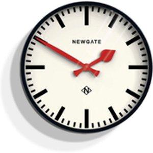 Newgate Putney Wall Clock - Black  Put390k  Home Accessories, Black