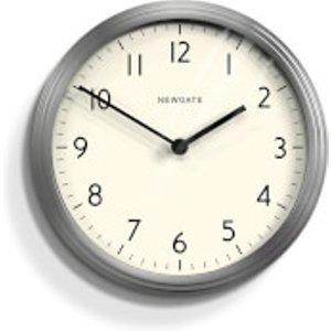 Newgate Spy Wall Clock - Burnished Steel Grey  SPY158BSS  Home Accessories, Grey